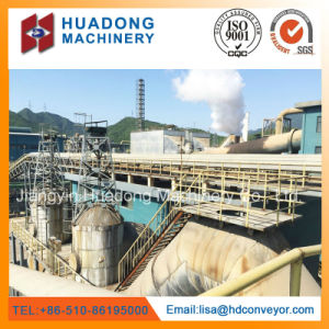 Heavy-Duty Belt Conveyor System Used for Power Plant pictures & photos