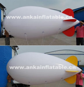 Cheap White Inflatable Airship Blimp Replica for Celebration pictures & photos