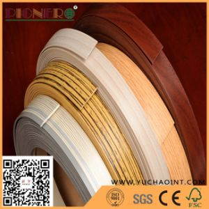 Wood Grain PVC Edge Banding for Table Edge pictures & photos