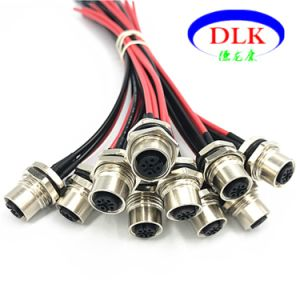 wiring harness m12 china m12 5p male panel mount connector to molex 5 pin wire wiring harness melted china m12 5p male panel mount connector