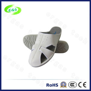 China Professional Work Place Spu Clean Room Slipper/Shoes, ESD PVC Slipper Flip Flop pictures & photos