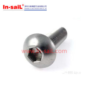 ISO7380 Grade 8.8 Steel Hexagon Socket Button Head Screws pictures & photos