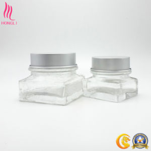 OEM Service Transparent Customized Shaped Cream Jar pictures & photos
