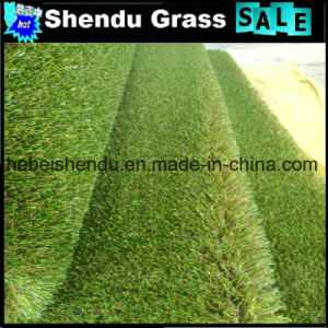 U Shape Yarn Artificial Turf with 4 Tone Color pictures & photos