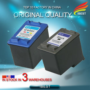 Remanufacture Compatible HP C8816A Black C8817A Color Ink Cartridge for HP816 HP817