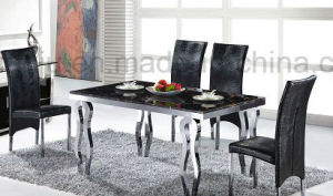 Metal Furniture Modern Dining Table (A8034)