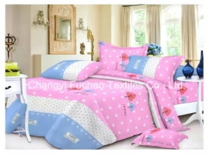 China Factory Wholesale Products Printed Woven Fabric Printed Bed Sheets