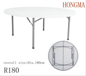 6FT Round Table R180 Big Round Table Dining Table Round