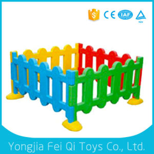 Indoor Plastic Toys- Color Fence Indoor Playground