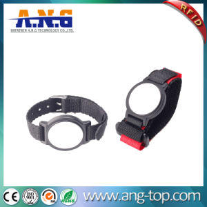 Customized Adjustable MIFARE 1k Nylon Watchband RFID Bracelets pictures & photos