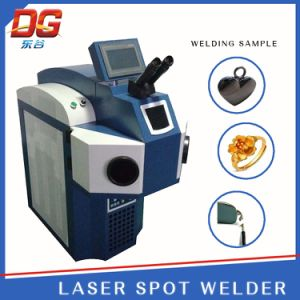 100W China Best Build-in Jewelry Laser Welding Machine Spot Welding pictures & photos