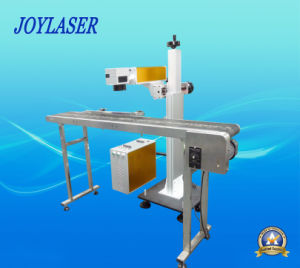 Lifting Type Flying Laser Marking Machine for Bottles or Production Line