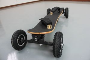 Four Wheels 1650W*2 Dual Belt Motor Off-road Skateboard & Electric Skateboard