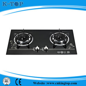 Glass Panel LPG Built in Gas Cooktop
