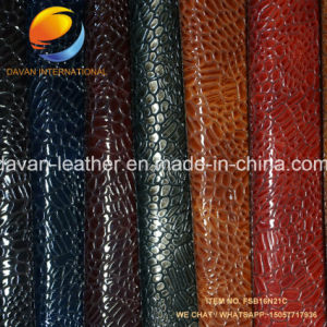Competitive PU Leather for Bag with Embossed Surface pictures & photos