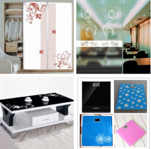 Tempered Decorative Flat Glass /Silk Screen Printing Glass pictures & photos