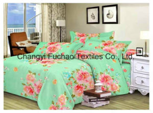 Microfiber Printed Bedding Set Used for Hotel pictures & photos