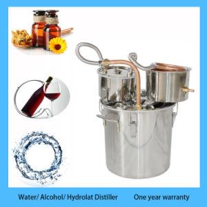 Kingsunshine 18L/5gal Home Moonshine Distiller Still Equipment for  Distilling Water/Alcohol/Hydrolat