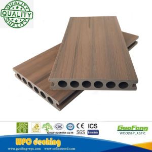 Capped Co-Extruded Wood Plastic Composite WPC Floor Panel 25*140mm
