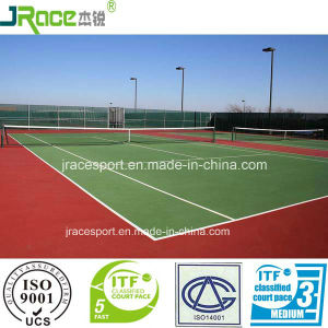 China High Performance Single Component Tennis Court Surface