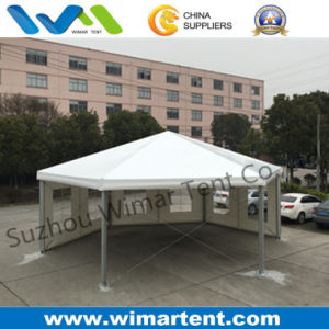New Design 10m Hexagonal Aluminum Frame Tent for Sale