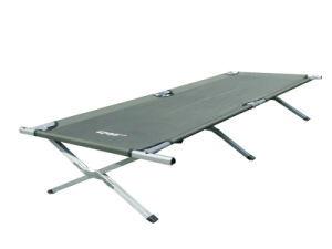 Aluminum Folding Bed (M) with Side Pocket