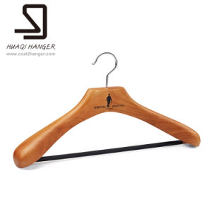 Branded Man Suit Wooden Hangers pictures & photos