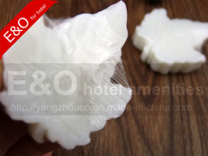 Disposable White Leaf Bath Mini Hotel Soap pictures & photos