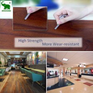 PVC/WPC Wear Resistant Commercial Grade Laminated Composite Flooring