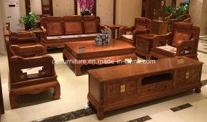 Wood Antique Modern Living Room Rosewood Sofa
