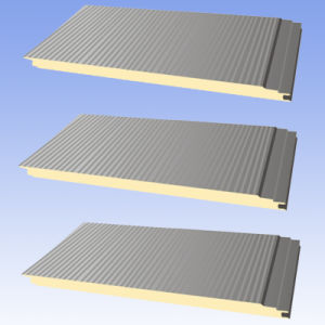 Clean Room/Hospital/Germ Free/Anti-Rust PU Foam Sandwich Wall Panel & Roof Panel pictures & photos