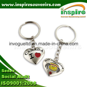 Fashion Metal Heart Keyring for Gift pictures & photos
