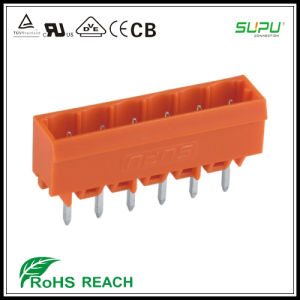 450 458 Header Socket Terminal Blocks with Solder Pin 1.2*1.2mm pictures & photos