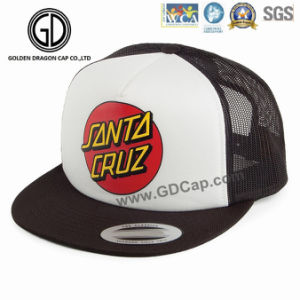 Classic Foam Snapback Baseball Hip-Hop Caps with Embroidered Logo Mesh Back pictures & photos