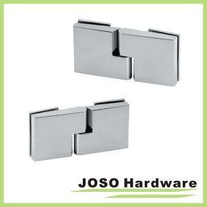 180 Glass to Glass Brass Shower Door Self-Rising Hinge pictures & photos