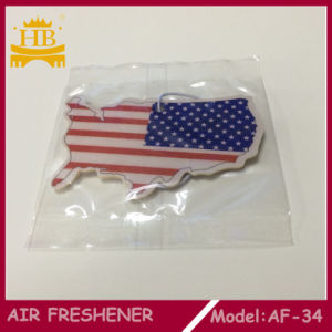 Hot Selling Cheap Paper Hanging Auto Air Freshener