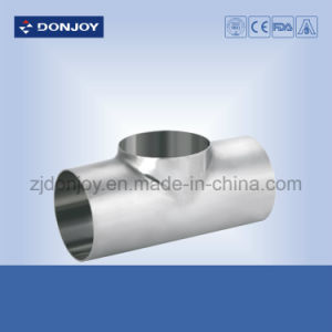 Stainless Steel Short Type Welded Tee Industrial Fittings pictures & photos