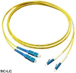 Sc-LC Fiber Optic Patch Cord pictures & photos