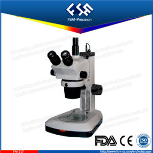FM-217 Trinocular Head Teaching Zoom Stereo Microscope