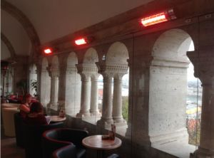 Infrared Heater Electric Heater for Budapest Church pictures & photos