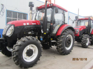 CE/CCC/ISO Certificate and 4WD by Wheel Tractor Made in China Huaxia Factory pictures & photos