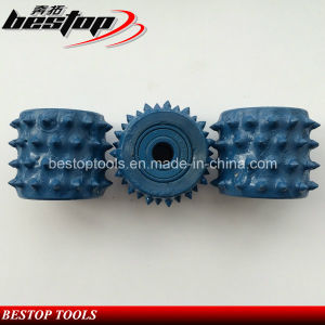 60 Teeth Diamond Bush Hammered Roller for Lichi Surface Fabricating pictures & photos