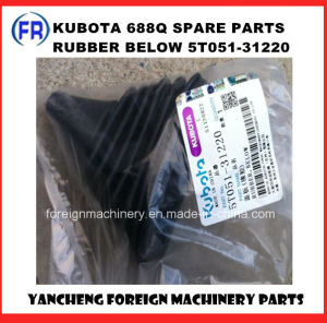 Kubota 688q Parts Rubber Below pictures & photos