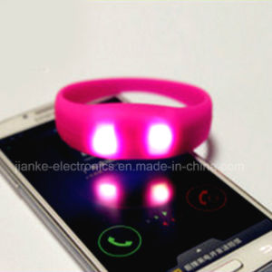 Novelty Sound Activated LED Bracelets for Party Decoration (4010)