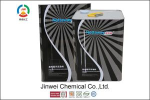 Jinwei High Performance Anti-Corrosion Sparkle Color Polyester Metallic Paint pictures & photos