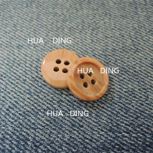 4-Hole High Quality Plastic Sewing Button for Garment (HD2015-16) pictures & photos