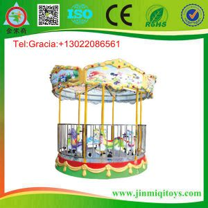 New Design Merry-Go-Round, Children Carousel, Park Carousel (JMQ-P179C)
