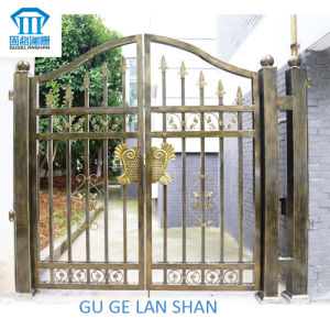 High Quality Crafted Wrought Iron Gate/Door 050 pictures & photos