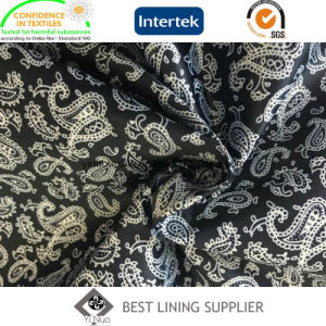 Polyester Satin Printed Lining Fabric Super Soft Men′s Suit Lining pictures & photos