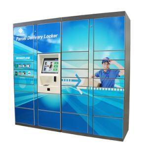 7/24 Intelligent Courier Cabinet Electronic Parcel Deliver Locker